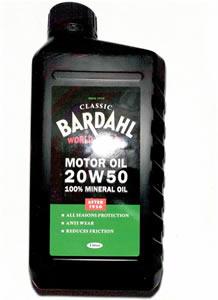 Bardahl classic motor oils anvil europe sl for Classic motor oil 20w50